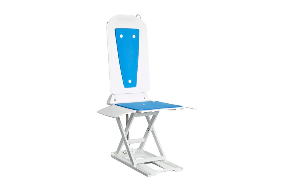 Badewannenlift, Kunststoff, weiß, blau, Schmid GmbH