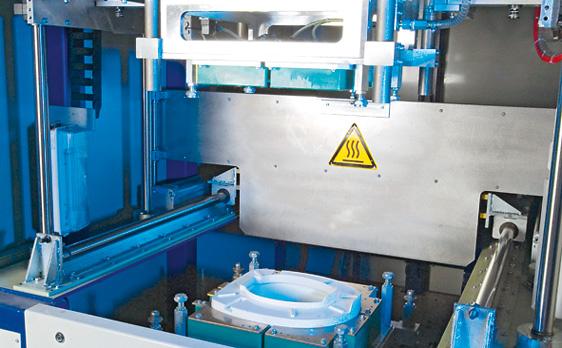 Schmid GmbH. Maschine zum Heizelementschweißen